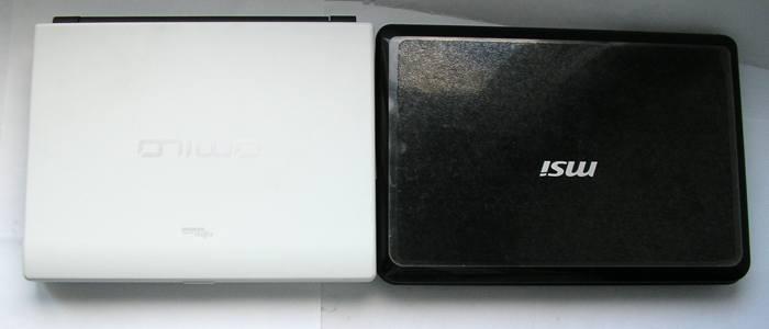Fujitsu Amilo Mini Ui 3520 и MSI Wind U90