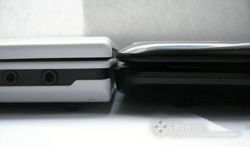 Fujitsu Amilo Mini Ui 3520 и MSI Wind U90 - толщИны