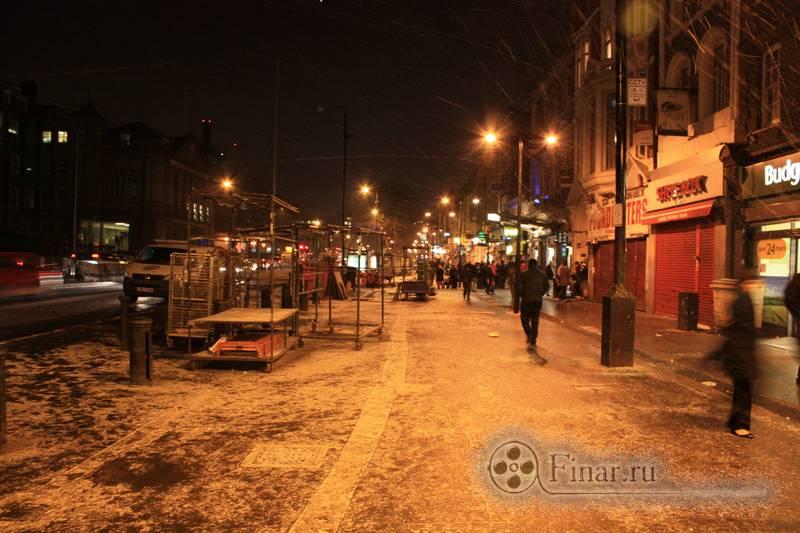 Зимний вечер в Лондоне