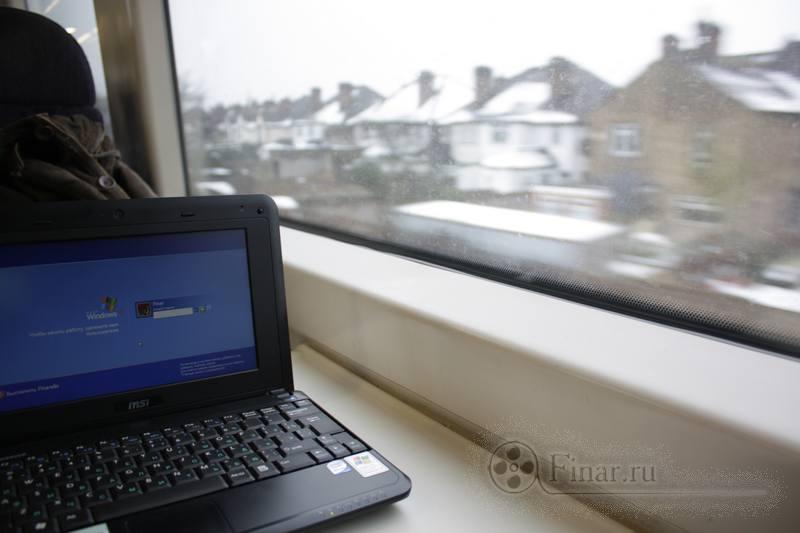 вид из окна поезда London -> Eastbourne