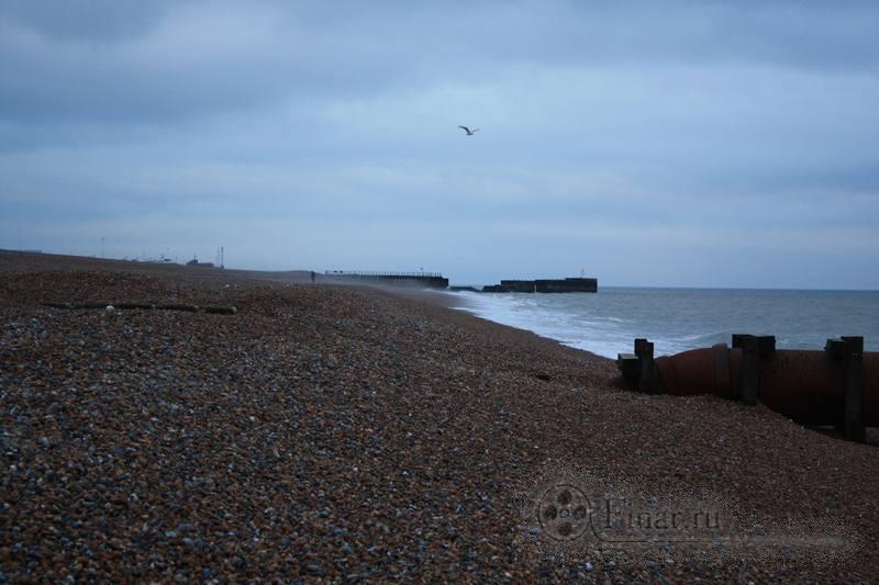 берег Гастингса, Англия