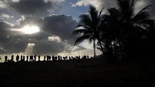 Солнечное Затмение 2012 года. Австралия. Кадр из фильма.