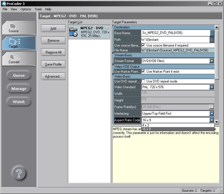 Инструкция к использованию canopus procoder 3